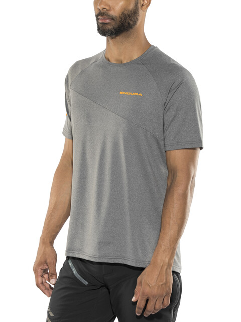 Endura SingleTrack Lite Short Sleeve Jersey Men grey